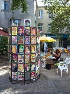 100 Portraits 100 Poètes