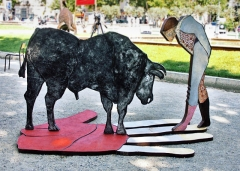 Sculpture El Toro