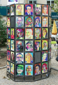 100 Portraits - 100 Poètes